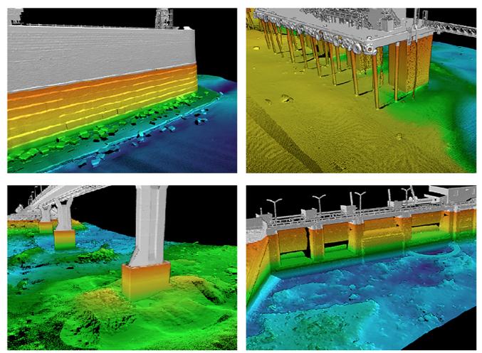 Examples of VRT's 3D data